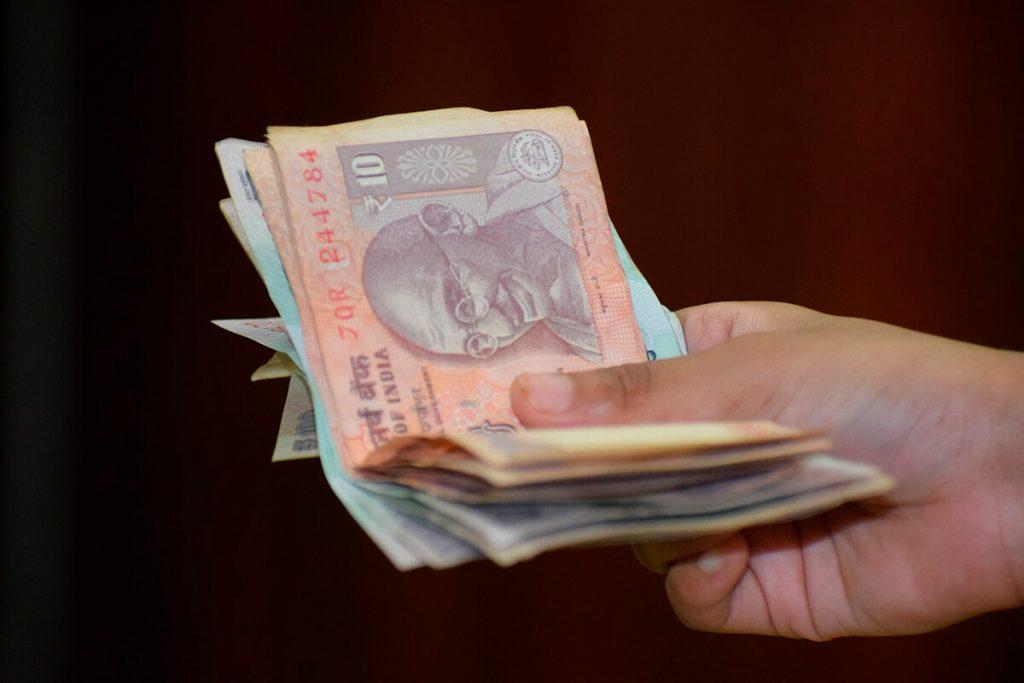 cambio moneda india