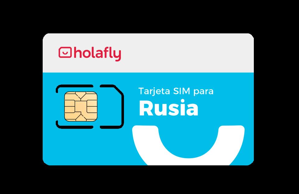 Tarjeta SIM para Rusia Holafly