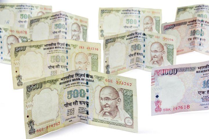 moneda de india
