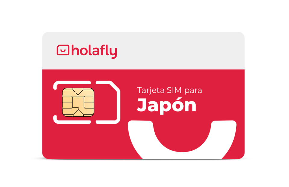 Tarjeta SIM Holafly para Japón