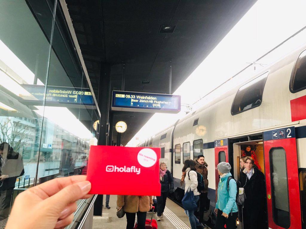 Opinión tarjeta SIM Holafly Suiza