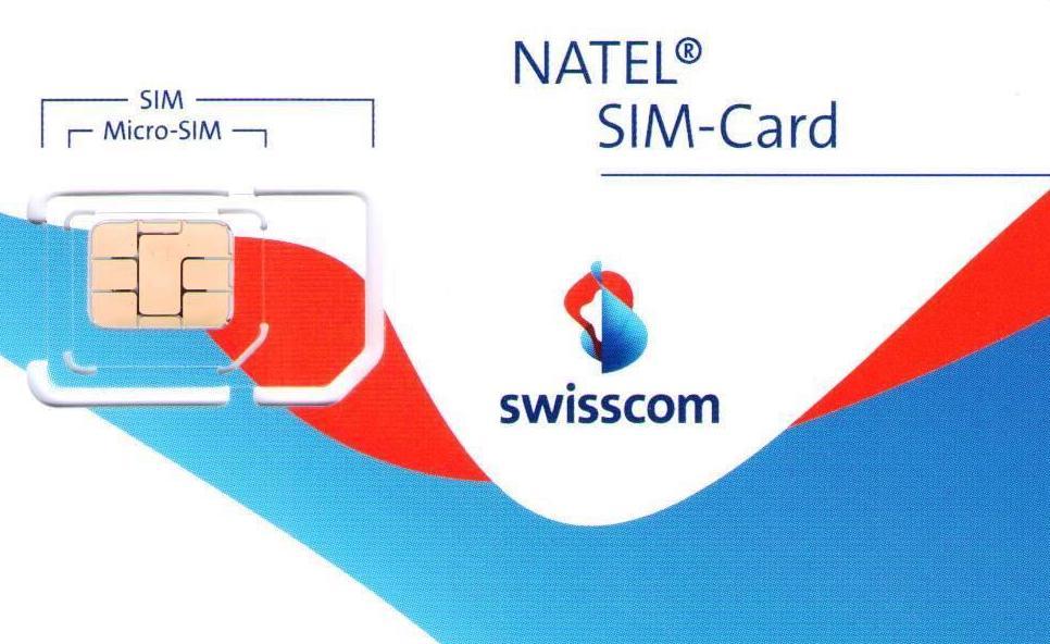 Tarjeta SIM Swisscom