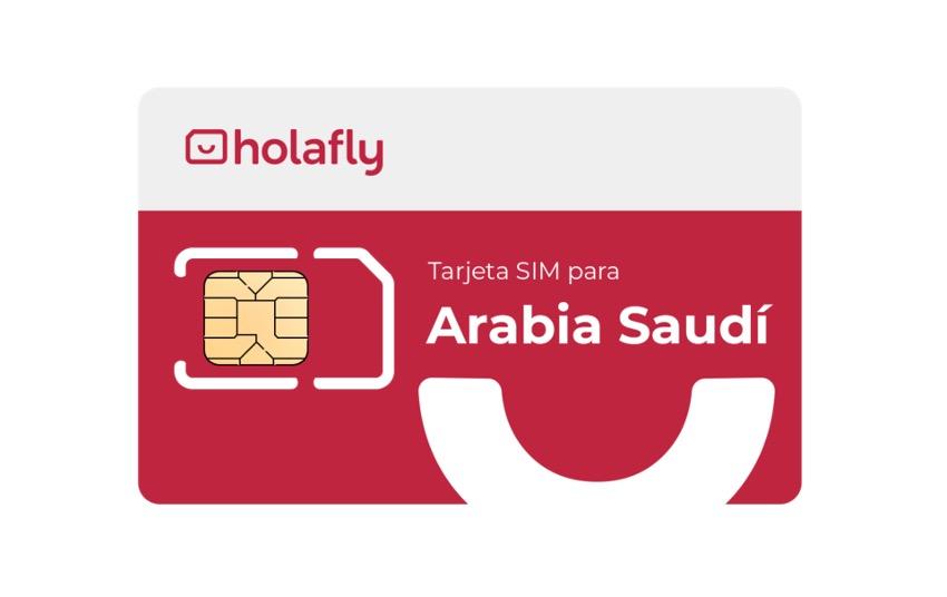 Tarjeta SIM de Holafly para Arabia Saudí