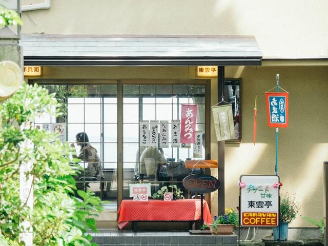 wifi gratis japon en un cafe